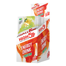 High5 Energy Drink with Protein Sachets - 12 x 47g APRIL 2020 BB DATE - SAVE 60%