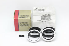 【MINT in BOX】Canon Extension Tube M Set (M5,M10,M20) Manual