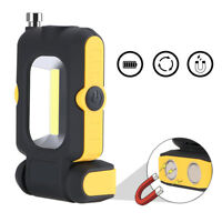 COB LED Work Lamp with Telescopic Magnet Rod Outdoor Night Camping Lantern Torch