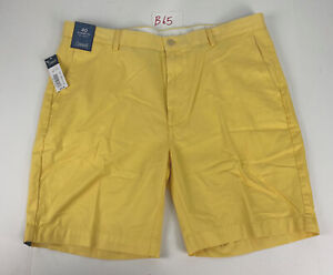New Roundtree Yorke Mens Casual Shorts Sz 40 Chino Golf Shorts