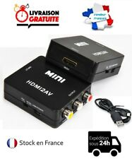 HDMI VERS RCA COMPOSITE VIDEO AUDIO AV CVBS ADAPTATEUR CONVERTISSEUR 720P / 1080