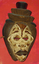 "Punu Mask , Gabon, 20th century, 15.5"" height"