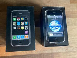Apple iPhone 1st Generation - 8GB - Black (O2) A1203 (GSM)