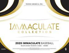 Albert Pujols 2020 IMMACULATE BASEBALL 8BOX PLAYER CASE BREAK #8