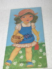 SASHA ON A VISIT  PAPER DOLL BOOK 1985 FIRST EDITION 10,000 COPIES
