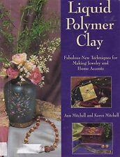 LIQUID POLYMER CLAY jewelry jewellery interior decoration glazing glass patterns