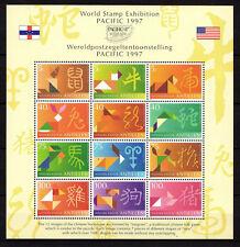 Dutch Antilles - 1997 Chinese horoscope / Zodiac signs Mi. Bl. 45 MNH