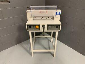 "MBM Triumph 3915-95 15"" Electric Paper Cutter - Serviced & Tested"