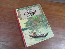HERGE / ALBUM TINTIN L OREILLE CASSEE 1958 B24