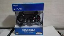 Ps3 Wireless Controller DualShock 3 Sixaxis-Black Charcoal Brand new Sony in its