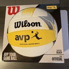 Wilson AVP Tour Official Game Ball Beach Volleyball WTH6007 BAS Outdoor