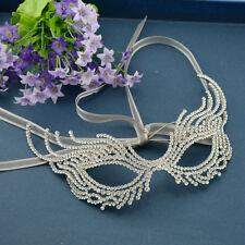 Full Crystal Women Eyes Mask Costume Halloween Masquerade Ball Prom Carnival