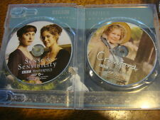 CRANFORD Judi Dench and SENSE & SENSIBILITY David Morrissey emmy dvd PBS BBC