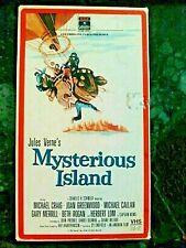Mysterious Island Jules Vern Rare VHS1986 RCA Michael Craig Joan Greenwood HTF