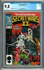 Secret Wars II #8 (1986) CGC 9.8  White Pages  Shooter - Milgrom - Leialoha