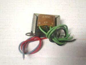 Stancor Interstage Audio Transformer PN A-53-C