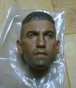 Head sculpt 1/6 Frank Castle battle damaged - The Punisher