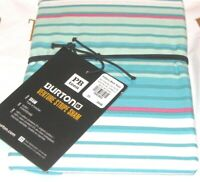 POTTERY BARN Teen  Euro Sham Burton Venture Stripe Teal Pink White Aqua Nip