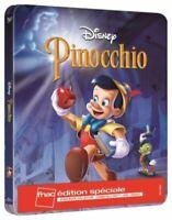 Blu Ray + DVD : Pinocchio - Ed Steelbook Disney Fnac - NEUF