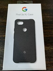 GENUINE Google Pixel 3a XL Case GA00787 Carbon FACTORY SEALED!