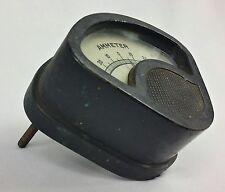 Antique Vintage Cast Iron Ammeter