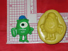 Monsters Inc Mike Silicone Mold A546 Cake Topper Chocolate Resin Candy