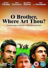 O Brother Where Art Thou? DVD George Clooney John Goodman Two 2 Disk Widescreen