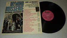RAYMOND BOISSERIE 33 TOURS LP FRANCE EDITH PIAF A BRUANT