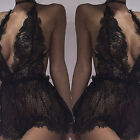 Hot Sexy Women Plus Size Lace Babydoll Underwear Lingerie Dress Sleepwear