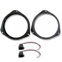 """Renault Traffic Front Door Speaker Adaptor Rings Spacers Kit 165mm 6.5"""""""