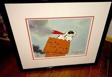 Peanuts Snoopy Cel GREAT PUMKIN CHARLIE BROWN Losing Altitude sign Bill Melendez
