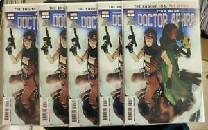 5X STAR WARS DOCTOR APHRA 7 FIRST WEN DELPHIS 1ST PRINT MARVEL COMICS NM