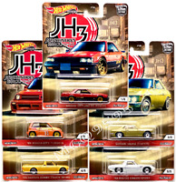HOT WHEELS 2020 CAR CULTURE JAPAN HISTORIC 3 COMPLETE SET OF 5 CAR DATSUN NISSAN