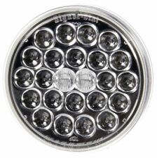 """Truck-Lite Signal Stat 4"""" Round Stop/Turn/Tail 24 Diode Red LED Clear Lens"""