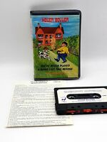 Commodore 64/ C64: Hover Bovver Tape Game - With Instructions- Llamasoft - 1983