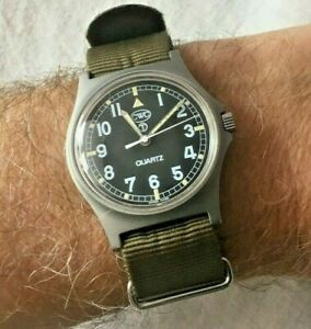 CWC G10 Military Watch - W10- Army issue 1998 - Very Rare year!