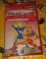 Masters of the Universe Kassette MC Folge 1 - Sternenstaub MotU He-Man Europa