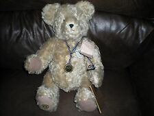 LARGE PLUSH MOHAIR COLLECTIBLE BOYDS BEAR 100TH ANNIVERSARY OF THE TEDDY BEAR