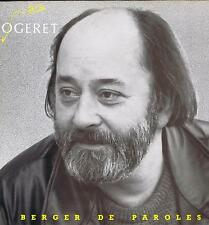 LP MARC OGERET BERGER DE PAROLES