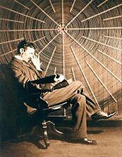 Nikola Tesla Coil Famous Scientist Conspiracy T-shirt