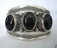 Beautiful Tibet Silver Turquoise Cuff bangle Bracelet