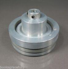 AKAI 1800D-SS Quadraphonic Reel Deck Part, FLYWHEEL w/ Set Screws (Fly Wheel)