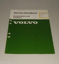Werkstatthandbuch Volvo 340 Motor B 172 ab Baujahr 1985 Konstruktion / Funktion