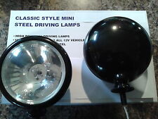 BMW Mini Black Spot Lights Driving Lamps Full Kit to fit R55 R56 R57 After 2006
