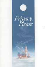 Disney Disneyland Resort Hotel Privacy Please Door Hanger New!