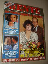 GENTE=1987/44=CORSIONE=DINO BASILI=ETTORE MAJORANA=ORNELLA MUTI=IOSIF BRODSKIJ