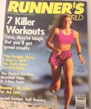 Runner's World Magazine Rachel Graybill Killer Workout November 1994 073117nonrh