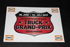 +183 Truck GP Rennen 2017  Nürburgring Aufkleber Sticker Kleber Bapperl Logo