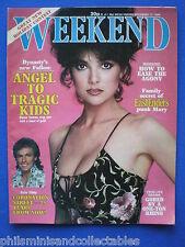 Weekend Magazine - Emma Samms, Linda Davidson, Frank Sinatra    17th Dec 1985