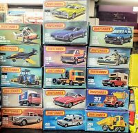 Matchbox 75 series includes some superfast - SOLD INDIVIDUALLY - DROP DOWN LIST